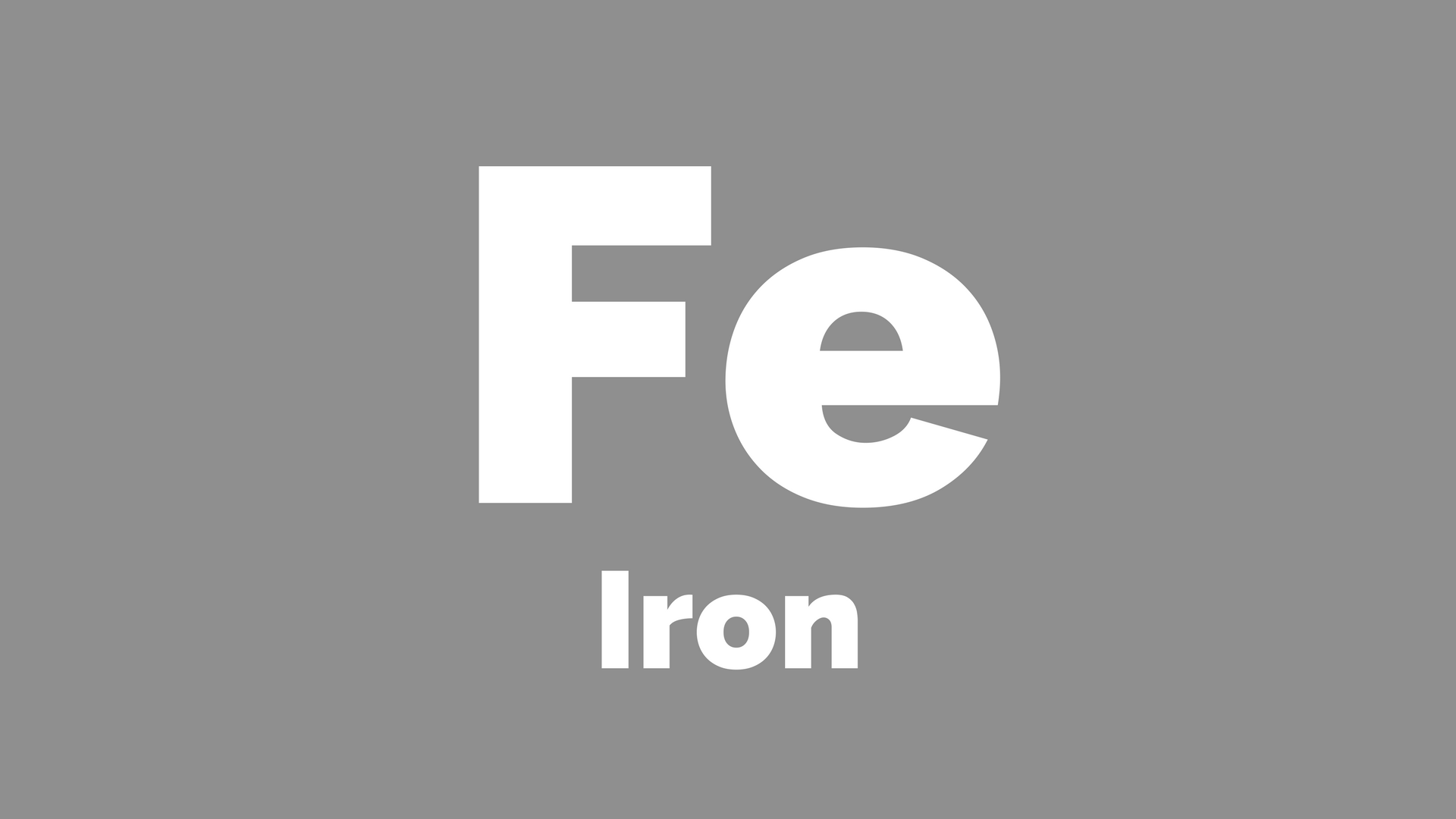 Iron Element Symbol Black And White Can low iron cause anx...