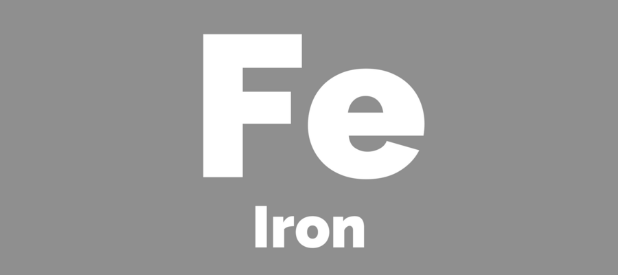 Chemical symbol for iron