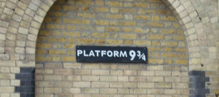 Platform 9 and three-quarters