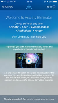 Anxiety Eliminator app