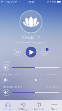 Anxiety Hypnosis app