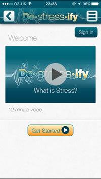 DeStressify app