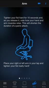 Panic Relief app